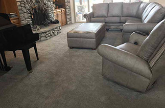 Stainmaster Carpet - Style: Hansel - Color: Moondust - Location: Celina, Texas