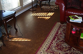 Cork Flooring Installation in Denton, TX