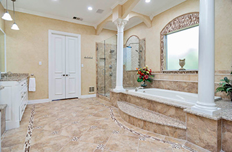 Stunning remodeling project by Simmons Floor Covering!